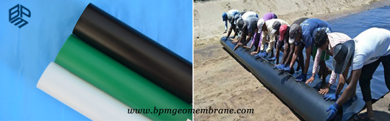Smooth Geomembrane HDPE Liner Price