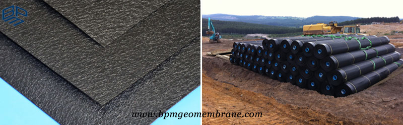 Textured HDPE Geomembrane for sale