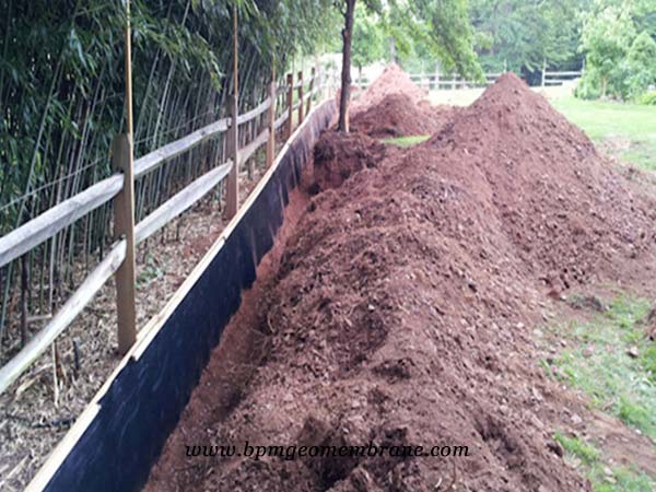 smooth geomembrane hdpe liner in Australia