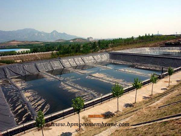 smooth geomembrane liner in America