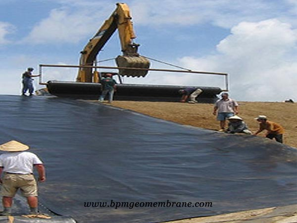 smooth hdpe geomembrane liner in Mongolia