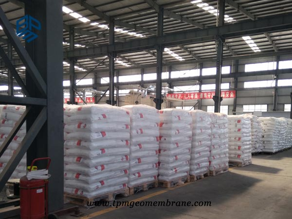 BPM flexible pond liner materials