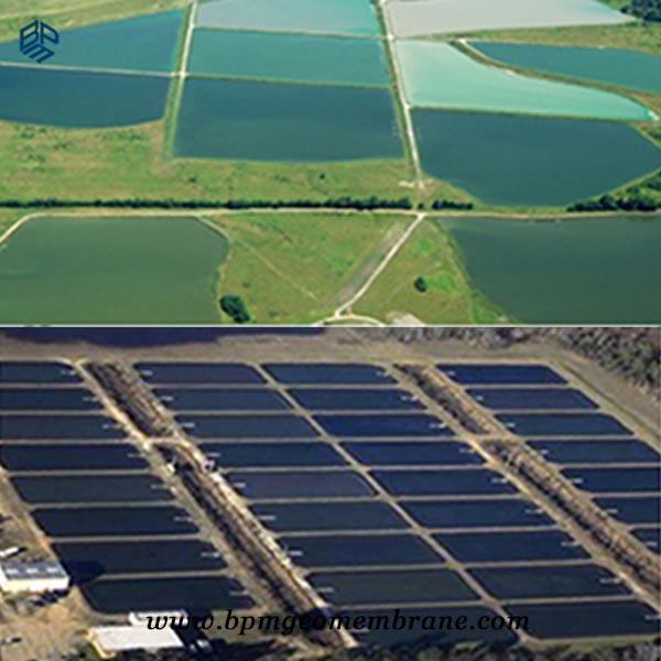 HDPE Geomembrane Aquaculture pond liner