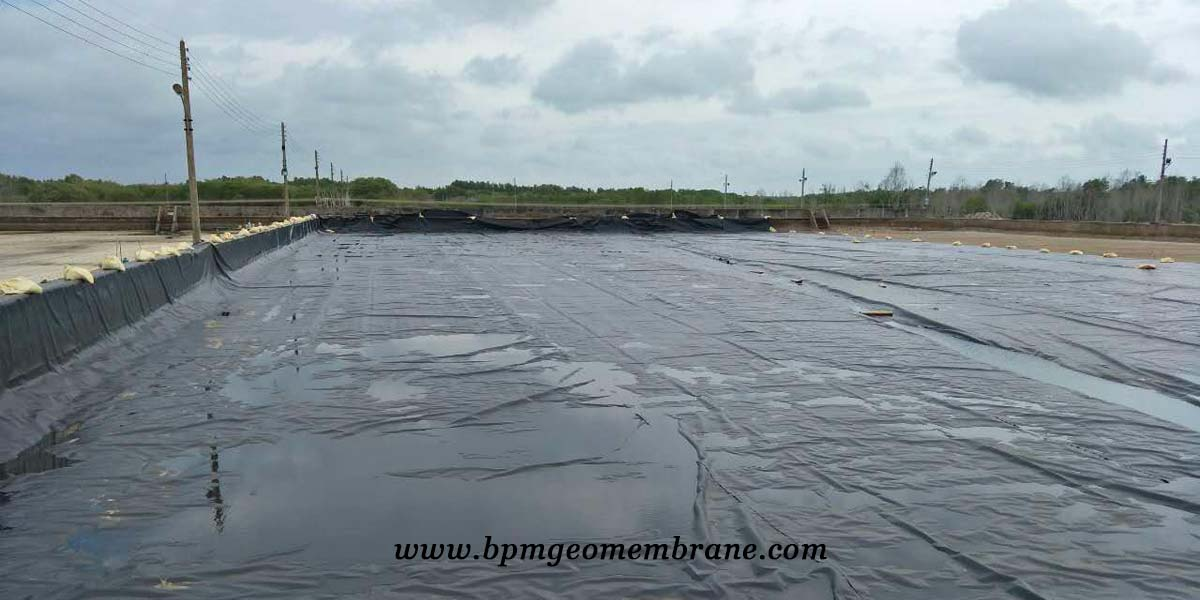 Pond Liner for Aquaculture Project in Sri Lanka