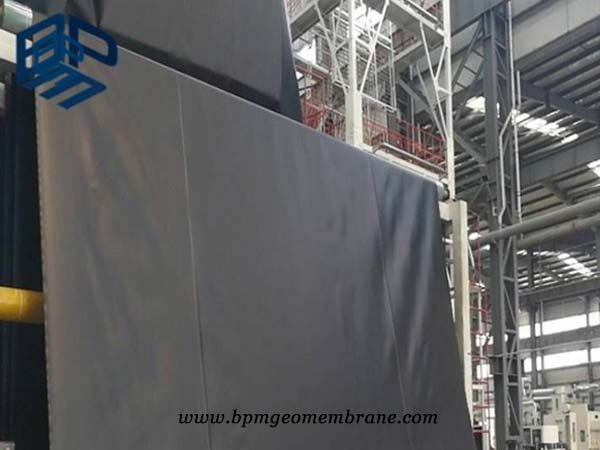 BPM geomembrane HDPE liner production line