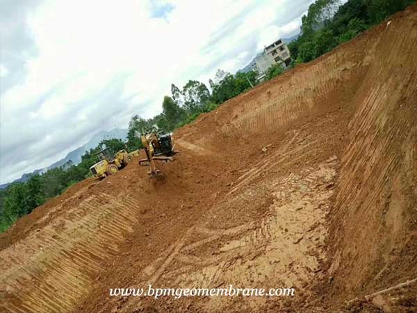 Geomembrane Pond Liner for Fish and Shrimp Pond Project in India