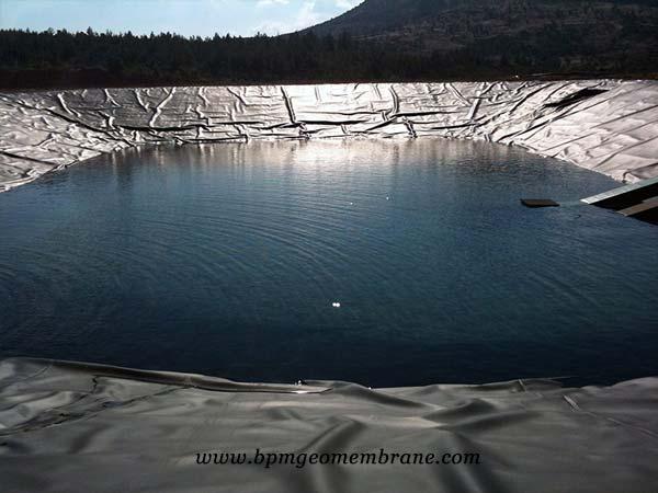 polyethylene pond iner application