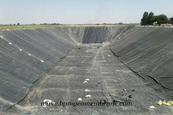 HDPE Pond Liner for Water Cooling in Nigeria