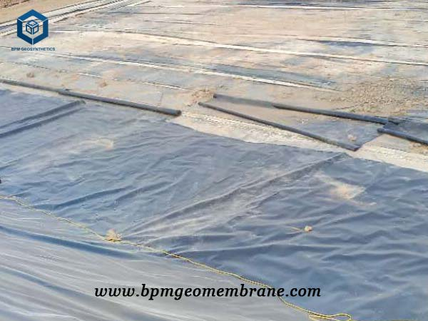 HDPE Plastic Liner for Biogas Pond Project