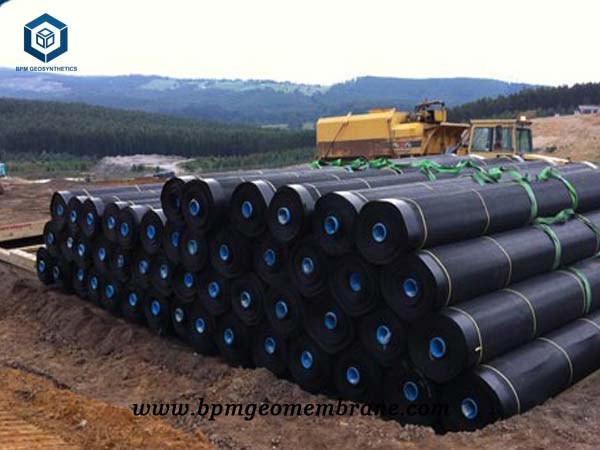 What is Geomembrane for Textured HDPE Geomembrane