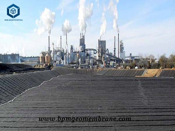What is geomembrane functions for Industrial