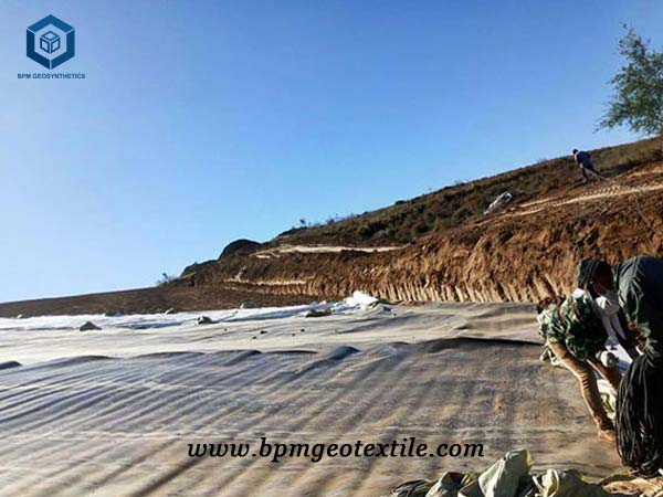 What is geomembrane functions for mining