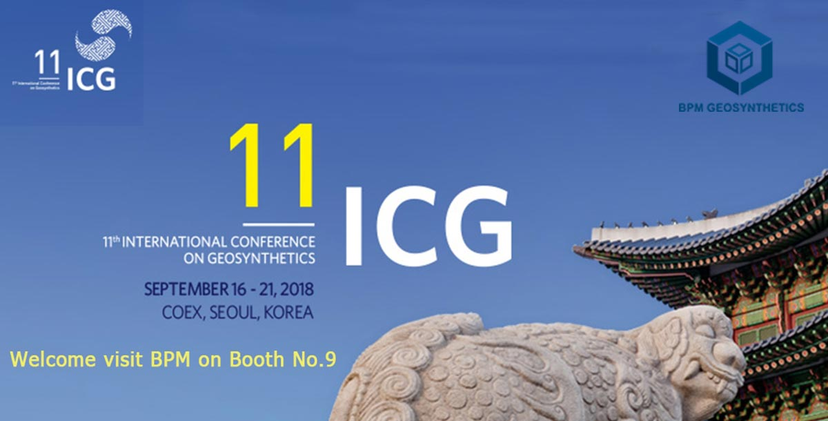BPM Geosynthetics showing on the ICG Korea