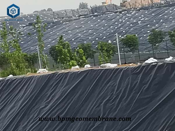 PVC Geomembrane Liner for Waste Containment in Wuhan
