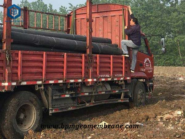 PVC Geomembrane Liner for Waste Containment