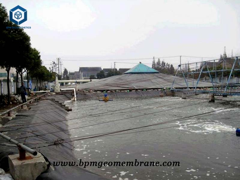 Aquaculture Pond Liner for Agriculture project in Sichuan