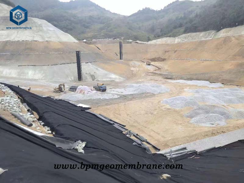 Pond Liner Fabric for Gold Tailing