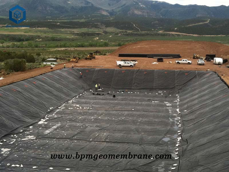 Water Pond Liner for Containment Application