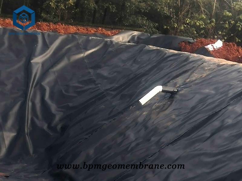 HDPE impermeable membrane for Biogas Digesters Projects