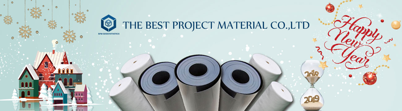 happy new year from HDPE Geomembrane Liner