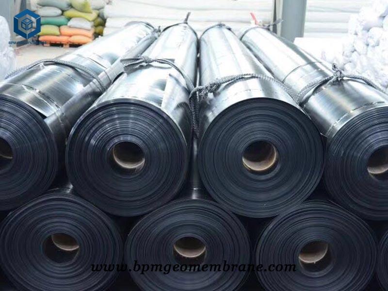 Black HDPE Liner Sheet for Salt Pond Lining in Indonesia
