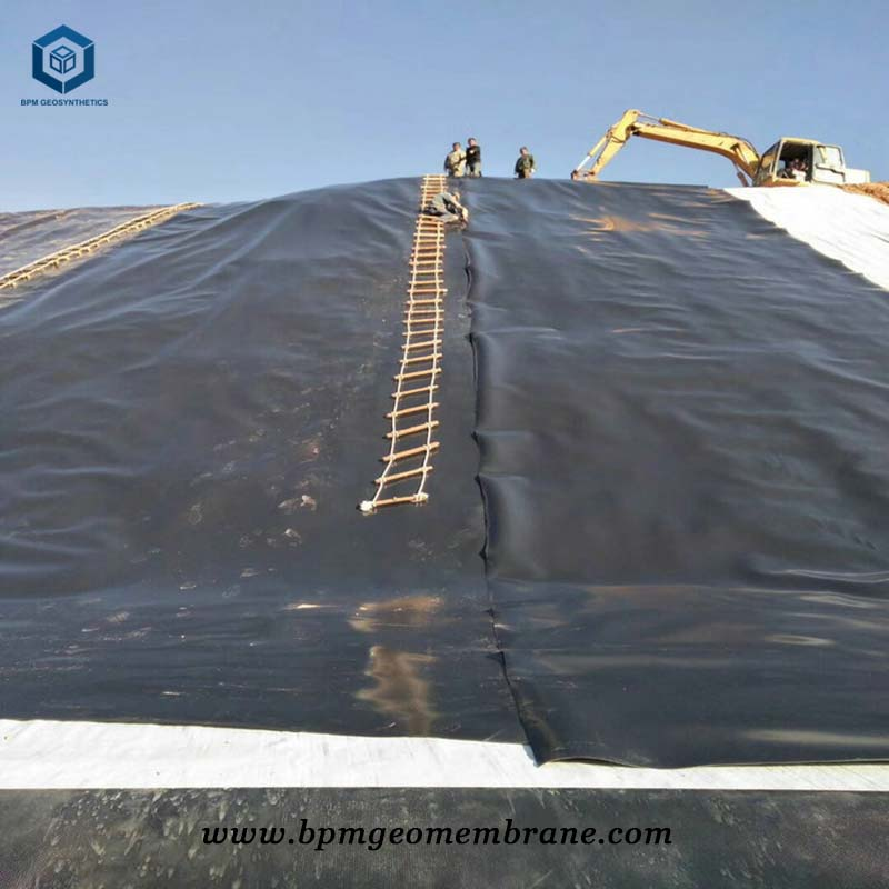 HDPE Landfill Liner Systems for Waste Containment In Bangladesh