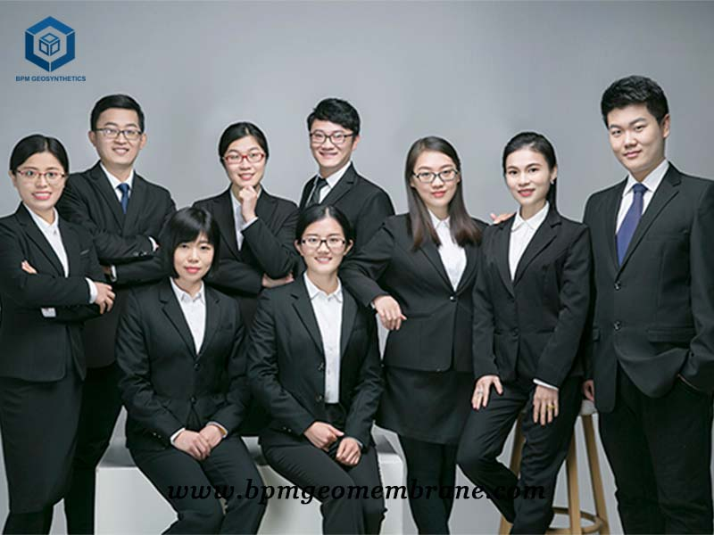 bpm geomembrane exporting team