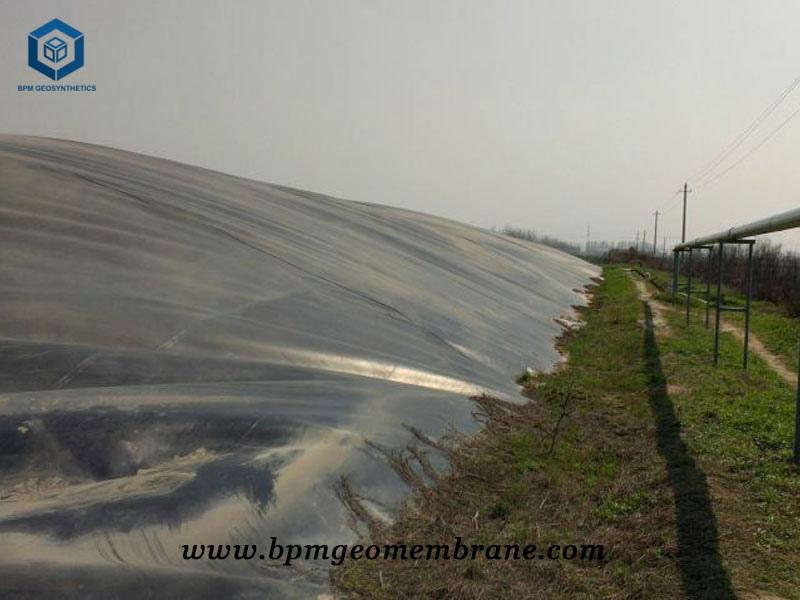 HDPE Pond Membrane Liner for Biogas Digester Project in Mexico