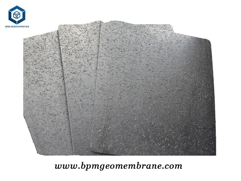 Newly Developed Textured HDPE Geomembrane Put into Production
