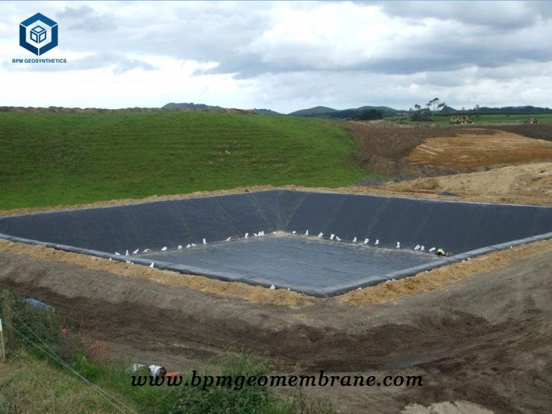 Dam Liner Installation in Thailand