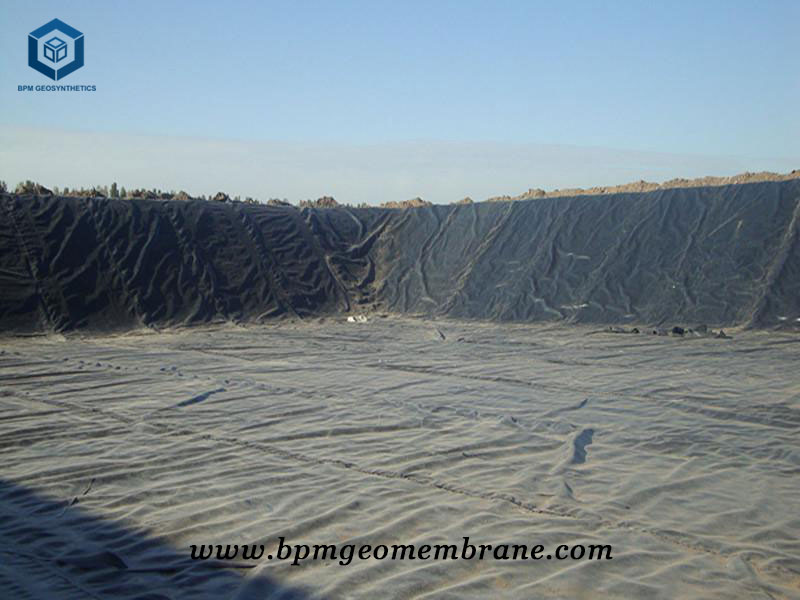 HDPE Dam Liner Installation for Dam Lining Project in Thailand