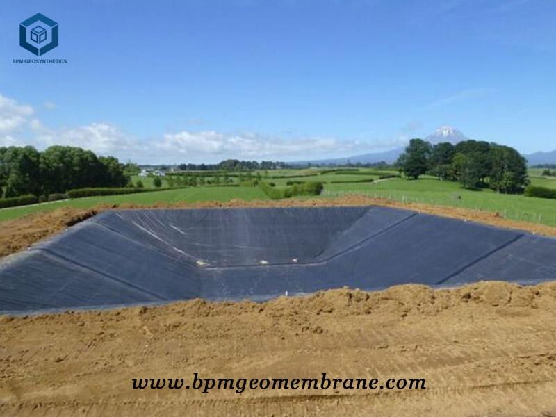 HDPE Dam Liner Installation in Thailand