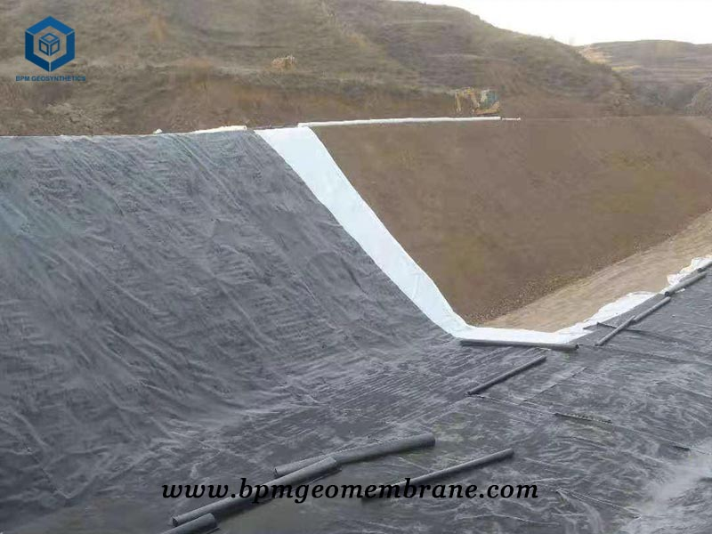 HDPE Dam Liners for Water Containment in Chile