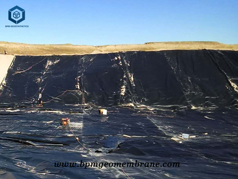 HDPE Waterproofing Membrane for Landfill Project in Philippines