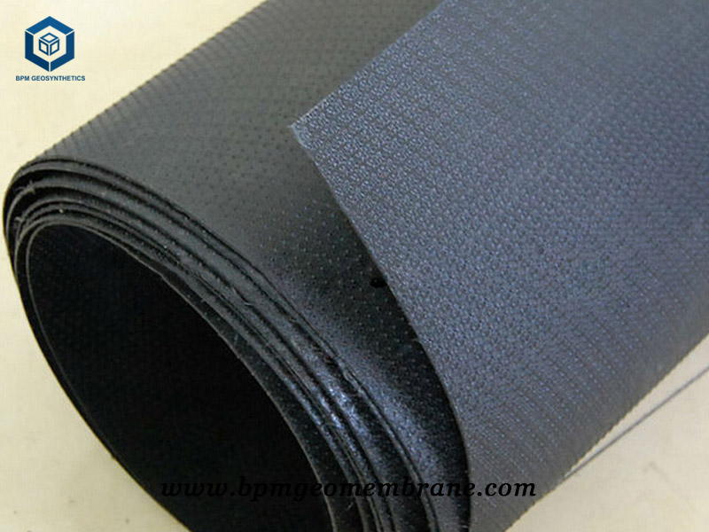 Textured HDPE Sheet for Landfill in Russia