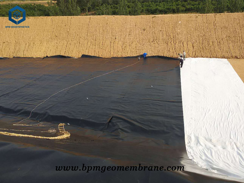 Polypropylene Geomembrane for Landfill Project in Ghana