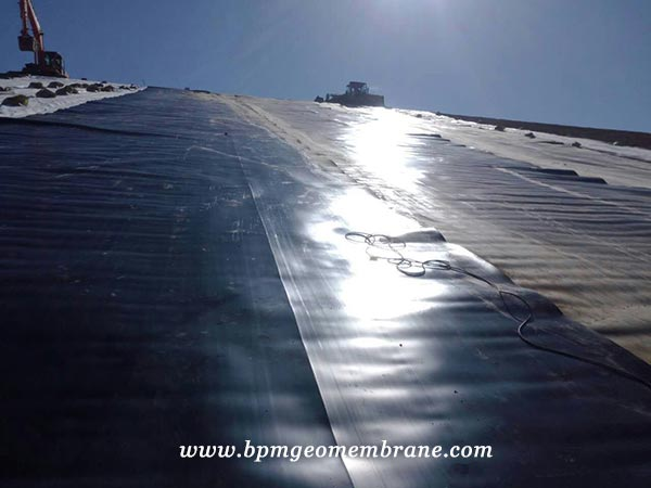 HDPE Geomembrane Liner Mining Project in Mongolia