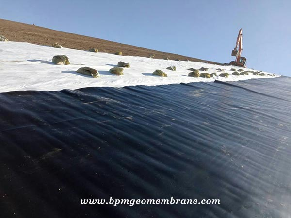 HDPE Membrane Mining Project in Mongolia