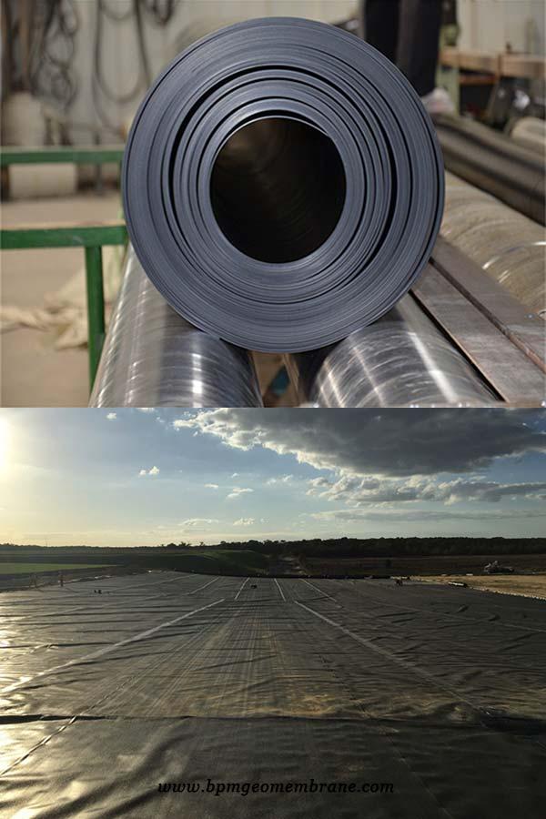Smooth HDPE Geomembrane Tanzania | Geotextiles | Building