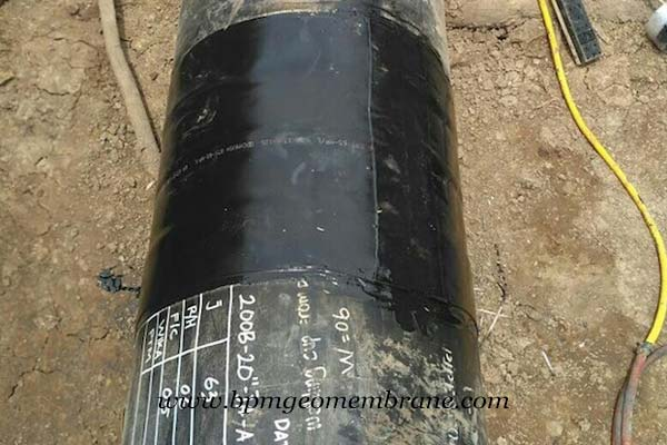 HDPE Geomembrane Sheet for Splashguard System in Indonesia