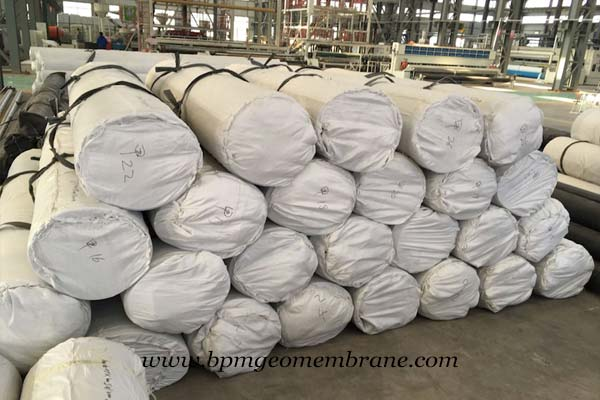 HDPE Geomembrane for Splashguard System in Indonesia