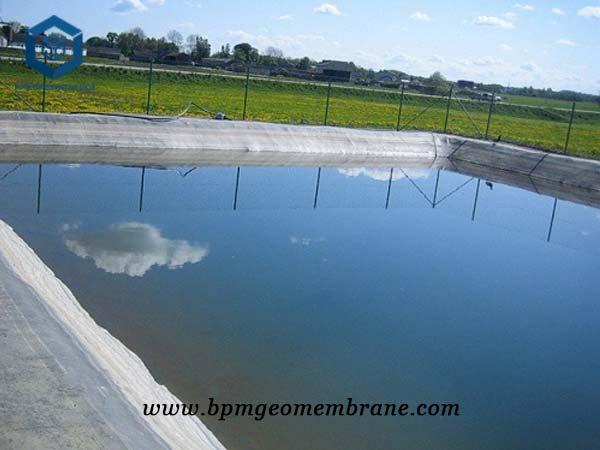 Farm pond liners for Shrimp Pond in Indonesia