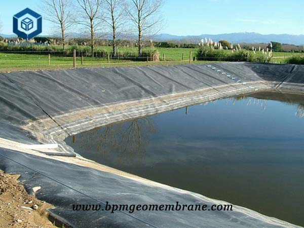 Farm pond liners for Shrimp & fish Pond in Indonesia