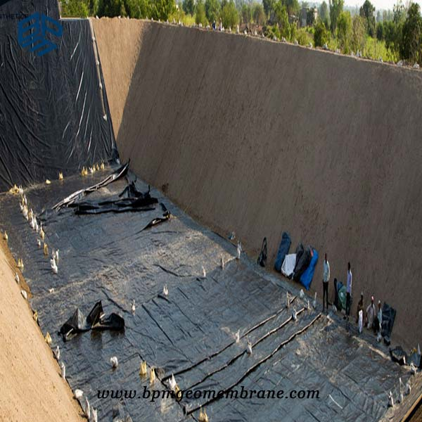 HDPE Landfill Geomembrane Project In Canada
