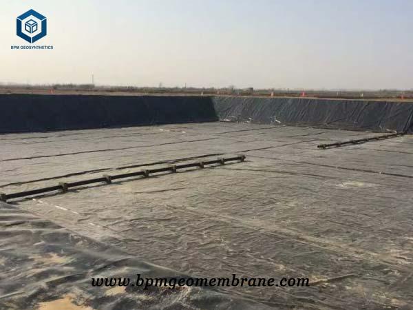 High Density Polyethylene Liner for Biogas Pond Project