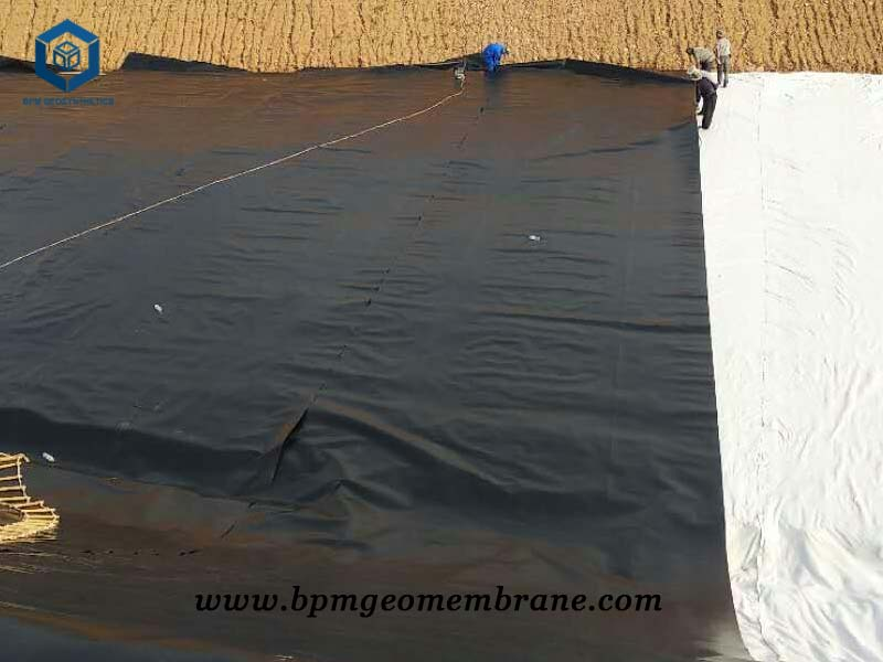 Heavy Pond Liner for Artificial Water Containment in Mongolia