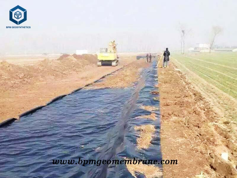 Flexible Pond Liner for Lotus Pond in China