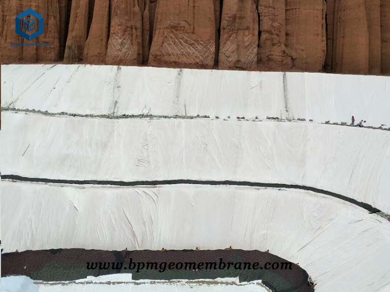 High Density Pond Liner for Dam Construction in Jiangsu