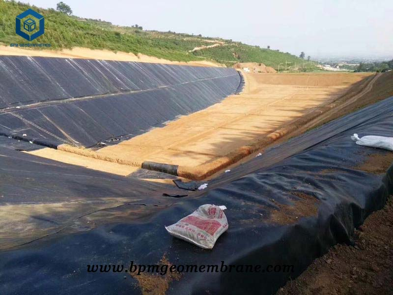 Water Pond Liner for Containment Application in Greece