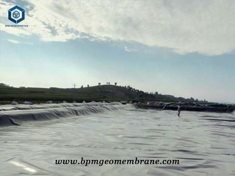 HDPE Pond Liner India for Fish Farm